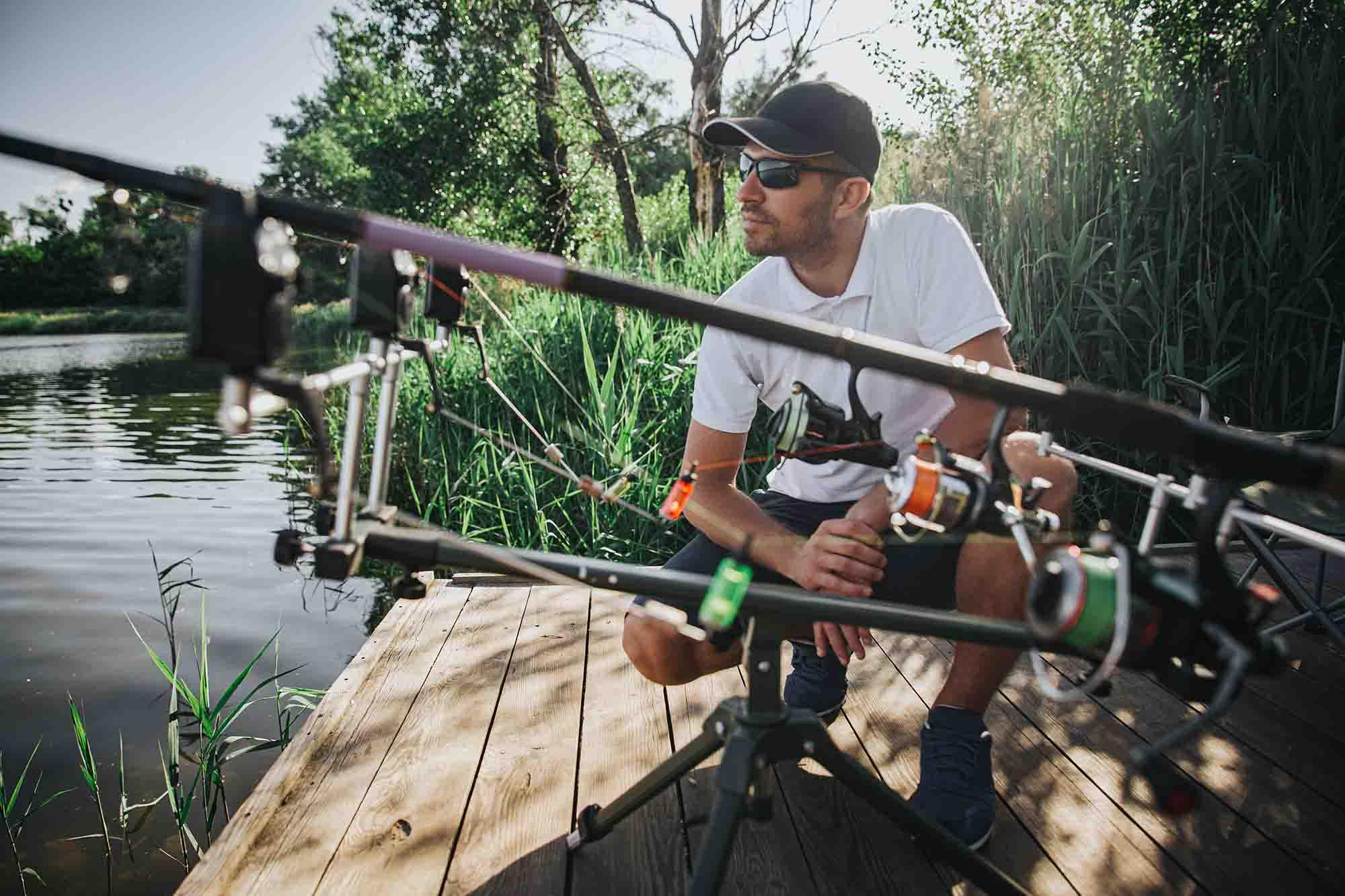 Canne da pesca vintage